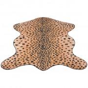 vidaXL Szőnyeg 150x220 cm leopárd mintázattal