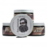 Raw American Pomade 4 oz / 118 mL Alpha Beard Scent Firm Hold