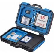 Carcasa de protectie depozitare carduri 22 compartimente toate tipurile de card/SIM protectiva Puluz