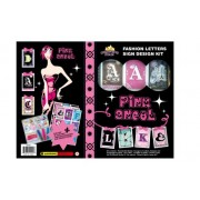 Designing Star Pink Angel Fashion Letters Sign Design Kit (95025)