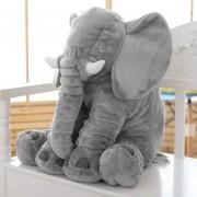 Eh Peluche De Elefante Almohada 28x33cm -Gris