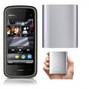 Combo of Nokia 5233 /Good Condition/Certified Pre Owned(1 Year WarrantyBazaar Warranty) With iMi 10 400 mAh Power Bank