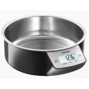 Cantar de bucatarie Sencor SKS 4030BK, 1l, 5kg (Inox)
