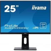 iiyama ProLite XUB2595WSU-B1 LED display 63,5 cm (25'') 1920 x 1200 Pixels WUXGA Flat Mat Zwart