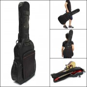 41' Thick Padded Guitar Bag Carry Case Double Shoulder Straps Black