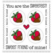 SRM Stickers We've Got Your Sticker PLUS Strawberry