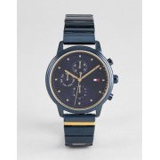 Tommy Hilfiger Синие часы с хронографом Tommy Hilfiger 1781893 IP - 38 мм - Синий
