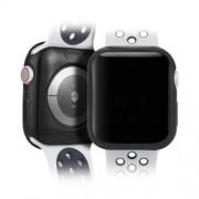 DUX DUCIS 2x Gel telefontok hátlap tok TPU Cover Apple Watch 4 40mm fekete és átlátszó