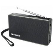 Radio portabil Muse M-030 R, FM/MW (Negru)