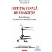 Justitia penala de tranzitie - Raluca Grosescu Raluca Ursachi