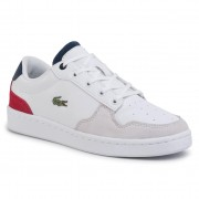 Сникърси LACOSTE - Masters Cup 120 2 Suj 7-39SUJ0010407 Wht/Nvy/Red