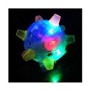 2-OYSS Gleams Ball Jumping Bouncing Ball for Kids Toys Funny Vibrating Toy Great Unique Fun for Kid It Glems, Jumps and Lights Toy