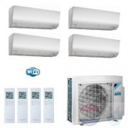 Daikin Air Conditioner Quattro Split R-32 Perfera FTXM-N Wit 2.0+2.0+2.5+2.5 kW WiFi FTXM20N +FTXM20N +FTXM25N 4MXM68N A++/A+