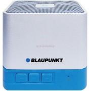 Boxa Portabila Blaupunkt BT02WH, Bluetooth, FM Radio, USB, MicroSD (Alb/Albastru)