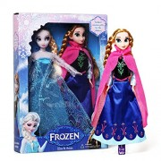 Baby Play True Frozen doll Sisters Princess Elsa & Princess Anna Lovely Sisters - Baby Girls Doll