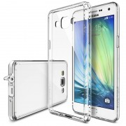 Husa Protectie Spate Ringke FUSION Crystal View plus folie Invisible Screen Defender pentru Samsung Galaxy A3