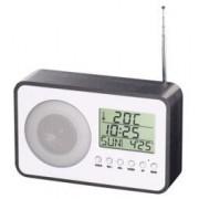 Auvisio Radio-réveil FM design avec port de chargement USB