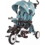 Tricicleta gemeni Chipolino 2Fun ocean Albastru