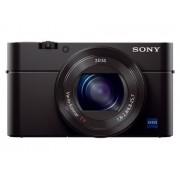 Sony Máquina Fotográfica Compacta DSC-RX100 III (Preto - 20 MP - ISO: 125 a 12800 - Zoom Ótico: 2.9x)