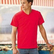 Fruit of the Loom Valueweight V-neck T * Fri Frakt *
