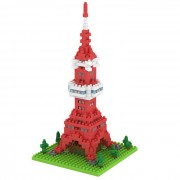 3D bricolaje bloques de Tokio torre modelo juguetes educativos - rojo