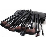 Set 32 pensule machiaj Cosmetic Par Natural-Sintetic Make-up Profesional+ Trusa Fard Pleoape