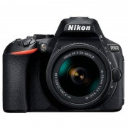 Nikon D5600 24.7MP Preta + 18-55 AF-P VR