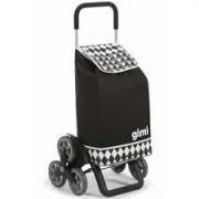 Gimi 392029 Tris Optical Black lépcsőjáró bevásárlókocsi 56 literes