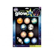 Stickere 3D - Planete The Original Glowstars Company