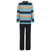 G Gregory Pyjama G Gregory 1 x zwart/turquoise/oranje