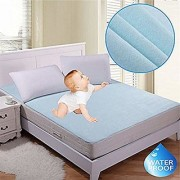 Fully WaterProof Mattress Protector Sheet With Elastic Strap For Double Bed