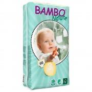 Bambo Fraldas Bambo Midi Ecológicos T3 66 uds