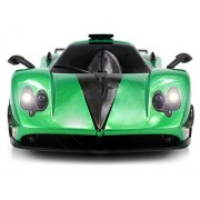 WFC Pagani Zonda R Remote Control RC Sports Car 1 16 Scale RTR Ready To Run w Bright LED Headlights Colors May Vary