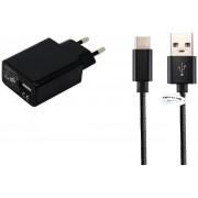 3A lader & 4,8A autolader. 2 m USB kabel en thuislader met plug stekker snoer geschikt voor: Xiaomi. o.a. Mi 4c, 4s, 5, 5c, 5s, 5s+ Plus, 5X, 6, 6+ Plus, 6X, 8, 8Se, A1, A2, Max 2, Mix, Mix 2, Mix 2s, Note 2, Note 3, Redmi Pro