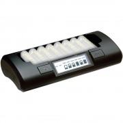 Incarcator inteligent Maha MH-C801D rapid pentru 8 acumulatori AA / AAA