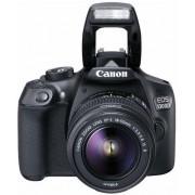 "Aparat Foto D-SLR Canon EOS 1300D + EFS18-55 IS II, 18 MP, Ecran 3"" LCD, Filmare Full HD (Negru)"