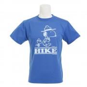 【セール実施中】【送料無料】PEANUTS HIKE BLU メンズ 半袖 Tシャツ PE04001 BLU