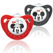 Nuk - Sucettes Mickey & Minnie tailles 1 (0-6 mois)