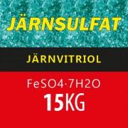 Järnsulfat (Järnvitriol) 15 kg