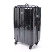 スパイラルガール SPIRAL GIRL スーツケース 50L拡張機能付トラベルハードキャリー (ブラック) レディース