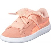 Puma Puma Smash V2 Ribbon Inf Peach Bud-bright Peach, Skor, Sneakers & Sportskor, Sneakers, Beige, Rosa, Barn, 25