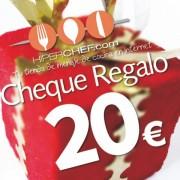 Cheque regalo 20 €