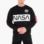 Alpha Industries Space Shuttle Sweater 178308 03 férfi pulóver