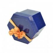 Cutie hexagonala pentru cercei/inel