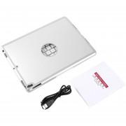 ER Teclado Inalámbrico Bluetooth De Aleación De Aluminio Funda Protectora Para Ipad Pro 10.5 -Silver