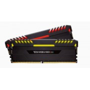 Memorie Corsair Vengeance RGB Series Black, 2x16GB, DDR4, 3000MHz, 1.35V, CL15