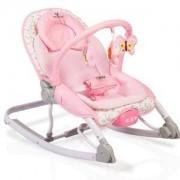 Бебешки шезлонг Cangaroo Carrie, розов, 3563414