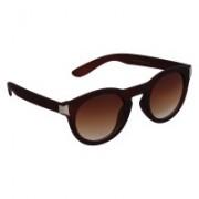 Pede Milan Round Sunglasses(Brown)