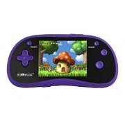 """I'm Game Handheld Game Player With 3"""" Color Display and 180 Games- Portable Gaming Console Purple"""