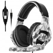 iPaky Sades 810 Camouflage Gaming Headphones with Microphone